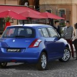 2014 Suzuki Swift accidentally revealed blue color