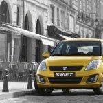 2014 Suzuki Swift accidentally revealed golden color