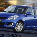 2014 Suzuki Swift accidentally revealed