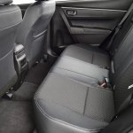 2014 Toyota Corolla European model rear knee room