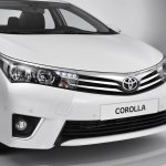 2014 Toyota Corolla European version front fascia up close