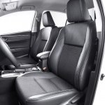 2014 Toyota Corolla European version front seats