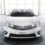 2014 Toyota Corolla European version front view