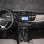 2014 Toyota Corolla dashboard
