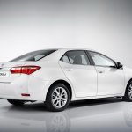 2014 Toyota Corolla for Europe rear