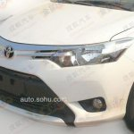 2014 Toyota Vios front end