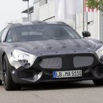 2015 Mercedes SLC AMG front fascia