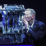 Alan Mullaly with the 1L Ford Ecoboost engine