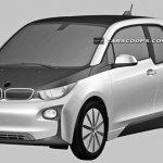 BMW i3 production patent leak
