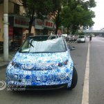 BMW i3 spied front