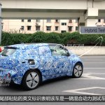 BMW i3 spied side view