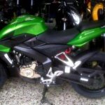 Bajaj Pulsar 200 NS gets the Ninja green color in Indonesia