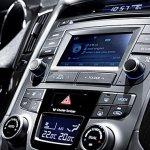 Centre console of the 2014 Hyundai Sonata South Korea