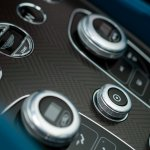 Cetre console buttons of the Aston Martin Vanquish Volante