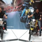 Chennai launch of the Honda CB Trigger