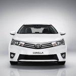 2014 European Toyota Corolla front