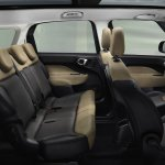 Fiat 500L Living interior 7 seats