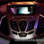 Ford EcoSport launched in India central console Ford SYNC