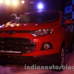 Ford EcoSport launched in India front
