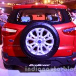 Ford EcoSport launched in India rear