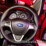 Ford EcoSport launched in India steering wheel