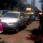 Front fascia of the Audi Q3 locally assembled version spotted testing