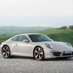 Front of Porsche 911 50 Years Edition