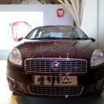 Front of the 2013 Fiat Linea T-Jet