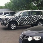 Great Wall Haval H9 spied front side view