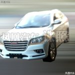 Haval H2 spied in China