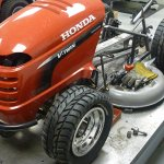 Honda super lawnmover front