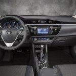 Interior of the 2014 Toyota Corolla