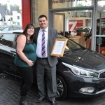 Kia Cee'd 4 hatchback is the 500000th Kia in the UK
