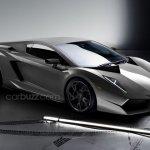 Lamborghini Cabrera front three quarter view