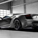 Lamborghini Cabrera rear