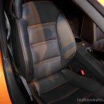 Lamborghini India Serie driver seat