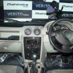 Mahindra Verito Vibe dashborad