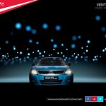 Mahindra Verito Vibe official image at dark