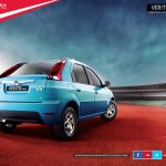 Mahindra Verito Vibe official image rear three quarters
