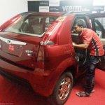 Mahindra Verito Vibe rear