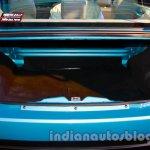 Mahindra Vibe boot close-up
