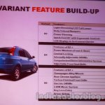Mahindra Vibe features list