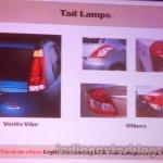 Mahindra Vibe vs competitors tail lmaps