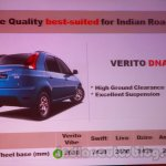 Mahindra Vibe vs competitors wheelbase