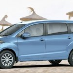 Maruti Ertiga on the beach