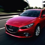 Mazda3 front three quarters