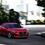 Mazda3 rolling shot