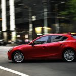 Mazda3 side view