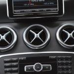 Mercedes A Class A180 aircon vents
