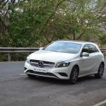 Mercedes A Class A180 front three quarters